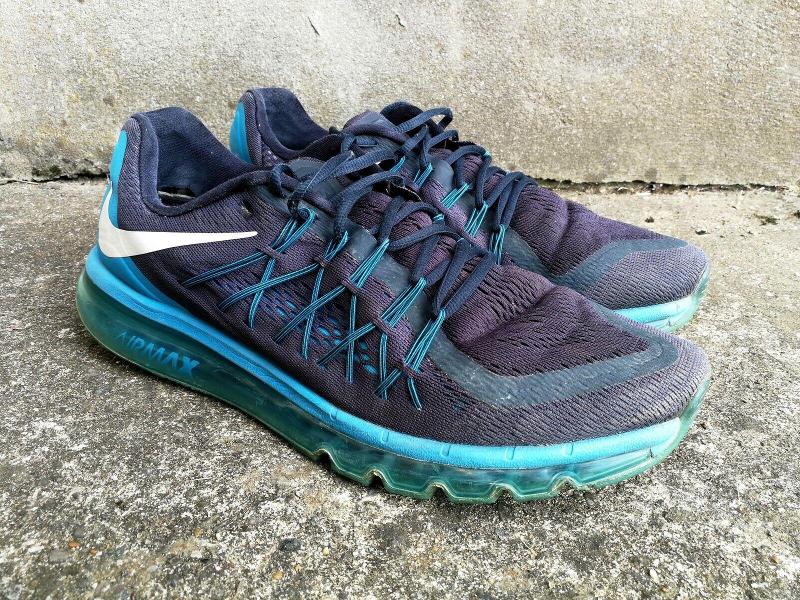 Nike Air Max 2015 Trainers, Sneakers 13, - Blau, Größe UK 13, Sneakers US 14, EUR 48.5, CM 32 43b488