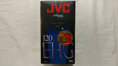 JVC T-120 Video Cassette Tapes Two SX One EHG