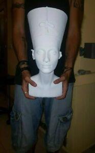 Reina-Nefertiti-Busto-Egipcio-de-tamano-real-de-3d-Escaner-49cm-modelo-perfecto