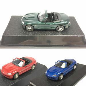 Mazda-MX-5-Cabrio-Sportwagen-1-43-Metall-Die-Cast-Modellauto-Spielzeug-Geschenk