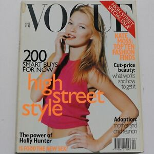 1996 Kate Moss Miles Aldridge vintage Vogue 90s fashion magazine Neil Kirk