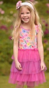 48499edf3 New Girls Matilda Jane Adventure Begins Fairy Garden Frenchie Dress ...