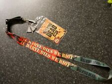 White Walking Dead Lanyard with choice of charm