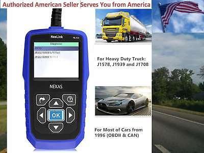 NEXAS Heavy Duty Truck Car Scanner NL102 OBD EOBD HDOBD Engine ABS Transmission EBay