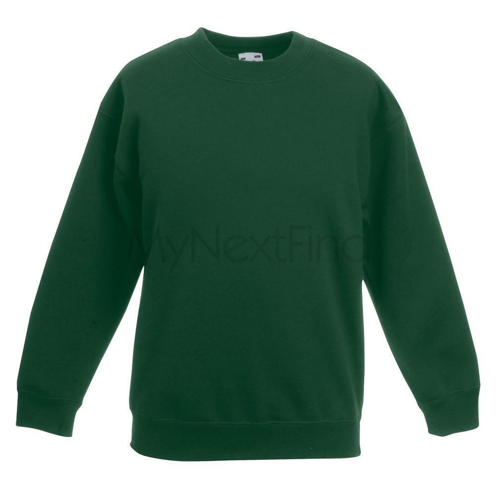 Pack of 2 Fruit of the Loom Kids Big Girls Premium 70//30 Sweatshirt