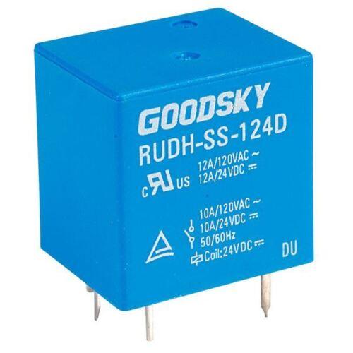 GOOD SKY 24V RUDH Series 12A Relay SPDT RUDH-SS-124D buone SKY