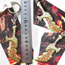 God of War Kratos Weapons Blade of Chaos Metal 9cm Key chain ring New & Hot