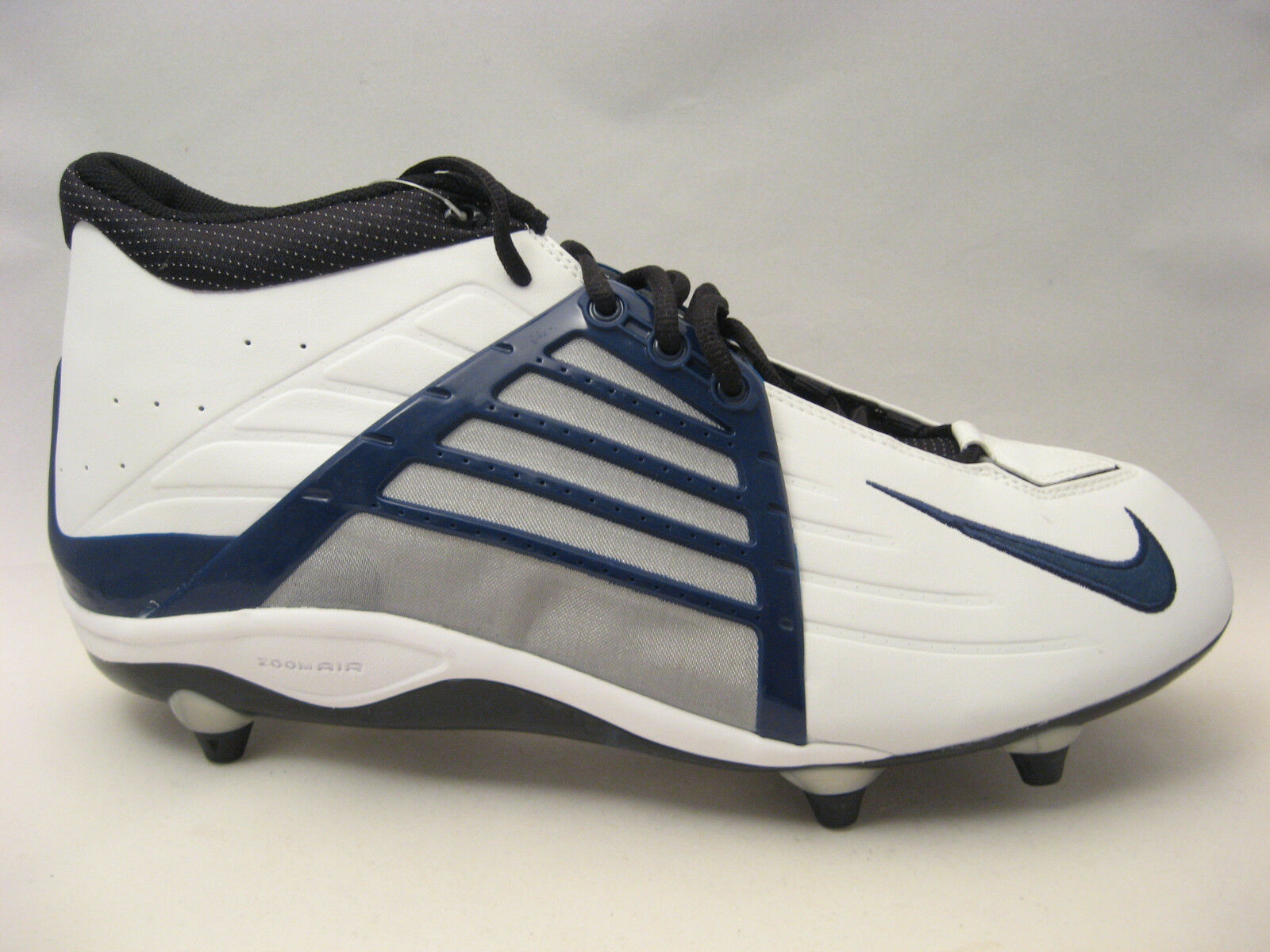 Nike Air Zoom Impact D Project Football Cleats 16 Alpha Project D White Navy Blue Black b749c8