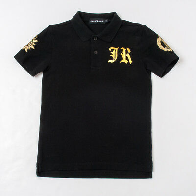 """j Polo Nera Bambino Patch 8/10/12a Richmond"" 18103po P/e 2018-50%"