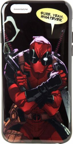 """MARVEL DEADPOOL /""""SURE WHATEVER/"""" PHONE CASE ~FITS IPHONE 6 6S~ FREE SHIP YEAH"""
