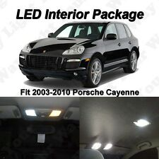 17 X Xenon White Smd Led Interior Lights Package For 2003 2010 Porsche Cayenne