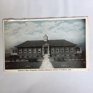 Eastern-Star-Hospital-Indiana-Masonic-Home-Franklin-Indiana-Unposted-Postcard