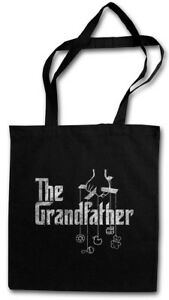 THE GRANDFATHER STOFFTASCHE Mafia Godfather Grandpa Fun Geschenk Italy Opa