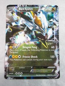 Pokemon Legendary Treasures Holo Rare Black Kyurem EX 100//113 ~Mint
