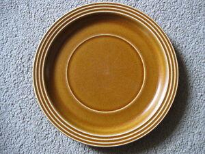 Vintage-Hornsea-SAFFRON-Soup-Desert-Bowl-UNDERPLATE-near-mint