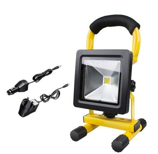 Midore 50w Portable Outdoor Flood Light 36 Smd Bright Led Waterproof Emergency Ebay