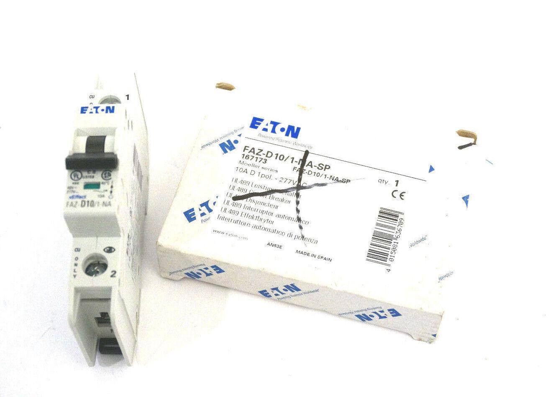 NEW EATON FAZ-D10 1-NA-SP CIRCUIT BREAKER FAZD101NASP