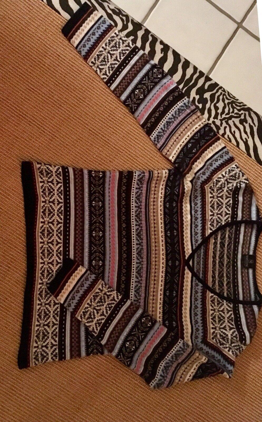 MADELEINE Kaschmir-Pullover D 38 Freundliches Muster | Ausgezeichnetes Preis