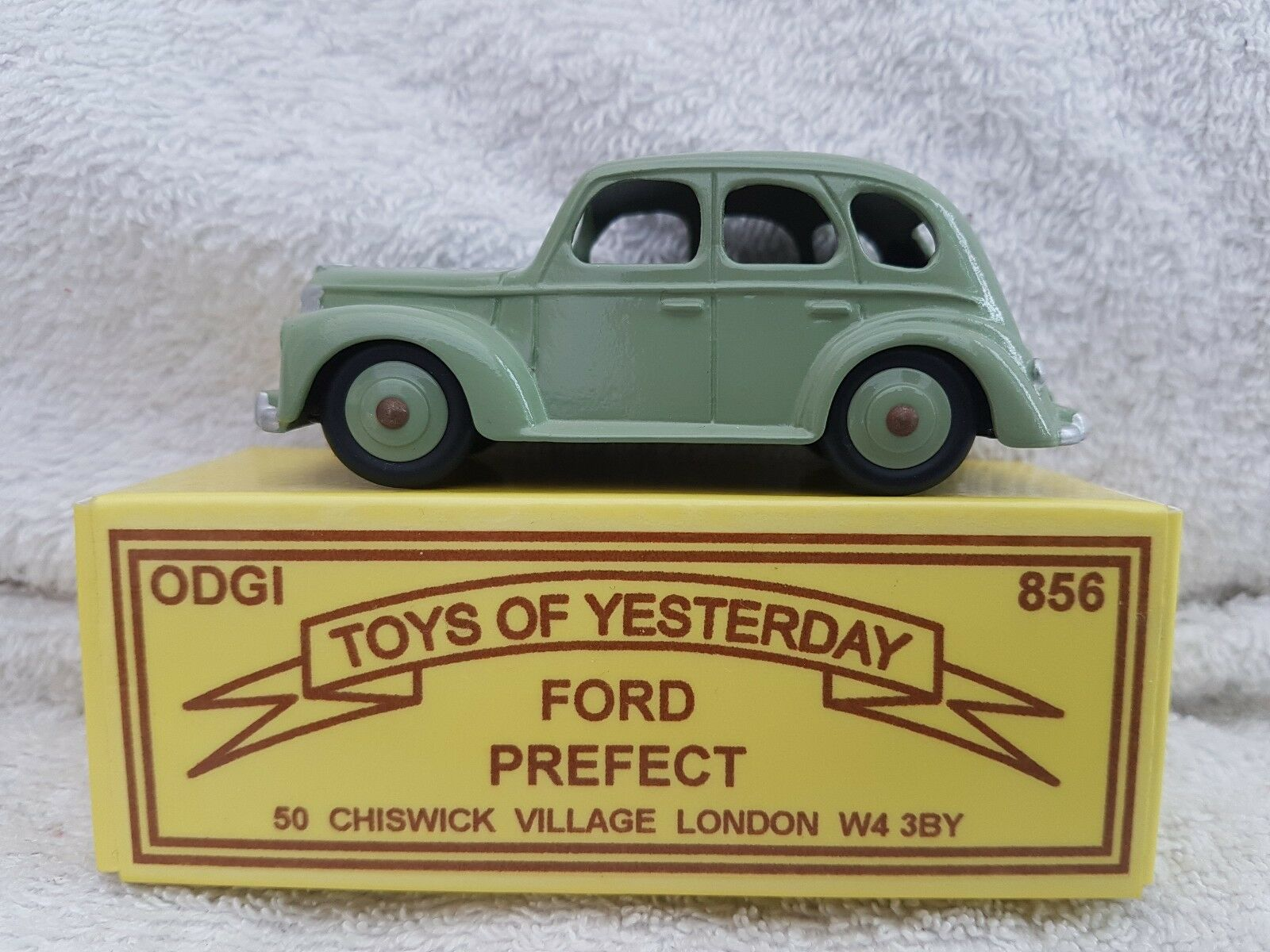 ODGI Toys Of Yesteryear Ford Prefect In Light Green