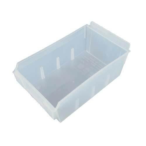 Slatwall Translucent Shelfbox 200