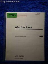 Sony Bedienungsanleitung MPK DVF5M Marine Pack (#3208)
