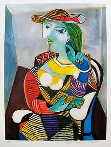 Pablo Picasso PORTRAIT OF MARIE THERESE WALTER Estate Signed Ltd ...