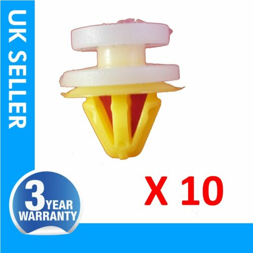 10x DOOR MOULDING TRIM Wheel Arch CLIPS FOR LAND ROVER DISCOVERY 3 RANGE SPORT