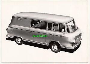 Details Zu Werks Foto Barkas B1000 Mehrzweckwagen Transporter Ddr Oldtimer Um 1960 70 D 2
