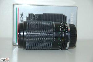 Olympus-OM1-Hanimex-HMC-1-4-70-210mm-4-5-5-6-Telezoom-Objektiv-Macro-Lens-NEU