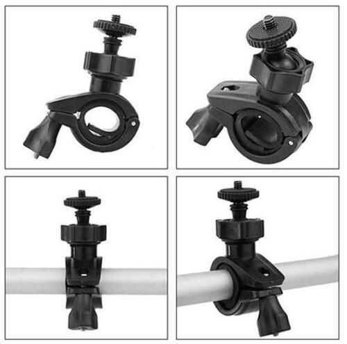 """Support guidon tube Adaptateur Vélo Moto vis 1//4/"""" pour appareil photo"""