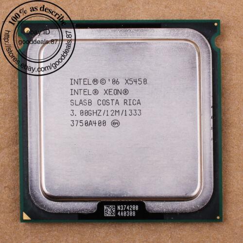 1 von 1 - Intel Xeon X5450 - 3 GHz (BX80574X5450A) LGA 771 SLASB SLBBE CPU 1333 MHz