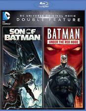 DC Universe Son of Batman/Batman: Under the Red Hood Blu-ray  Double Feature LN