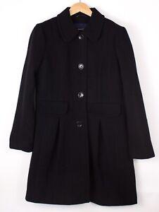 GANT Damen Freizeit Wolle Polyamid Mantel Jacke Größe L ASZ645