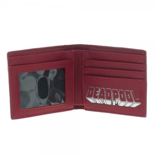 Officiel Marvel Comics Deadpool Imprimer Avec Pointus Clous Portefeuille NEUF