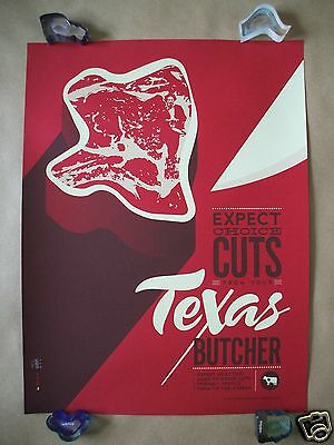 TEXAS CHAINSAW MASSACRE TOM WHALEN ORIGINAL MOVIE POSTER PRINT MONDO HALLOWEEN