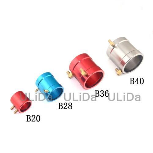 Top Quality B20 B28 B36 B40 de refroidissement d/'eau Veste en aluminium pour sans balai RC Bateau