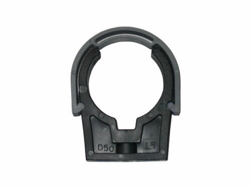 40 mm 5 x well2wellness® PVC Rohrschelle schwarz 200201-2