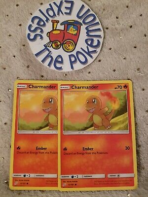Team Up Common Mint//NM Pokemon Charmander 12//181  SM