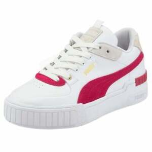 Puma Cali Sport Heritage Perforated Platform  Womens  Sneakers Shoes Casual   -