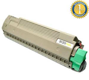 Yellow Toner Cartridge for Okidata Oki C830 C830N C830DN C830DTN 44059109 New 8K