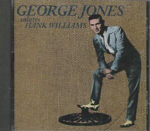 Music-CD-George-Jones-Salutes-Hank-Williams
