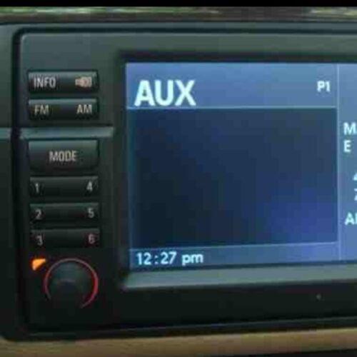 AUX Input 3.5mm Jack Fits BMW 3 Series E46 E39 SAT NAV E53 X5 2002-2006