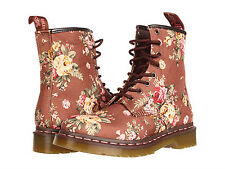 Dr. Martens Women`s Victorian Flowers 1460 W Lace up Boot taupe US 5 EU 36 UK 3