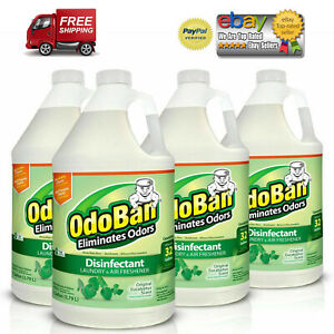4-PACKS-OdoBan-Odor-Eliminator-and-Disinfectant-Concentrate-Eucalyptus-Scent