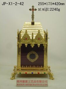 Brass-Large-monstrance-Reliquary-for-Church-or-home-relic-16-54-034-H-JP-X1-2-42