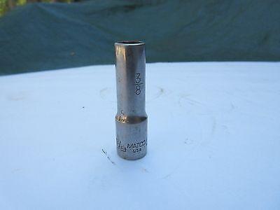 "*pre_owned* Matco Tools 3/8"" Deep Socket 3/8"" Drive 6pt Bd126a Carattere Aromatico E Gusto Gradevole"