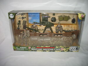 World-Peacekeepers-defense-militaire-Unite-1-18-Scale-3-figure-Army-Playset-NEW