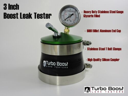 """Intake Check UNIVERSAL for 3.0/"""" inch Turbo Inlets 3/"""" TURBO BOOST LEAK TESTER"""