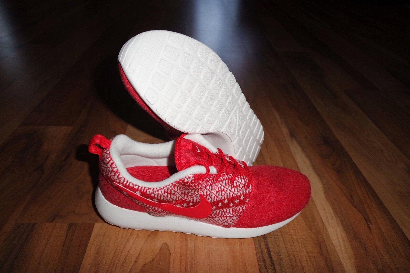 Nike Women's Roshe One Winter 685286 661 UNIVERSITY RED Shoe SZ 6.5, 7, 8, 8.5,9