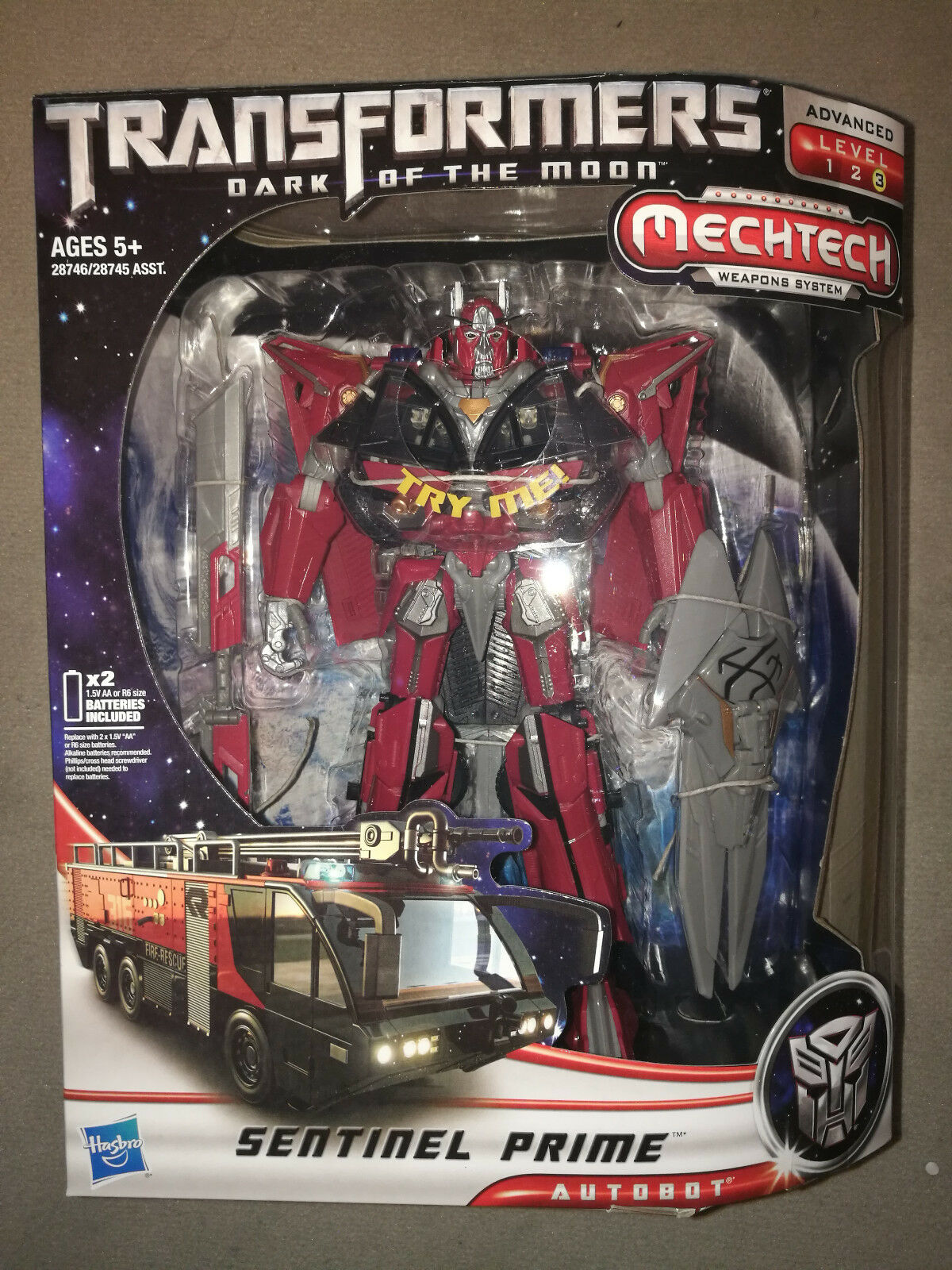 TRANSFORMERS MOVIE DARK OF THE MOON LEADER CLASS SENTINEL PRIME